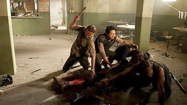 10. Hershel ısırıldığı ve bacağının kesildiği an