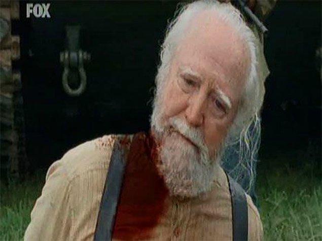14. Hershel'in öldüğü an