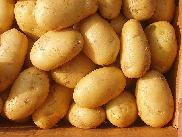 2. Hiçbir albenisi olmayan, sade, sıradan görünümü ile önemli olanın dış güzellik olmadığını ispatlar patates.