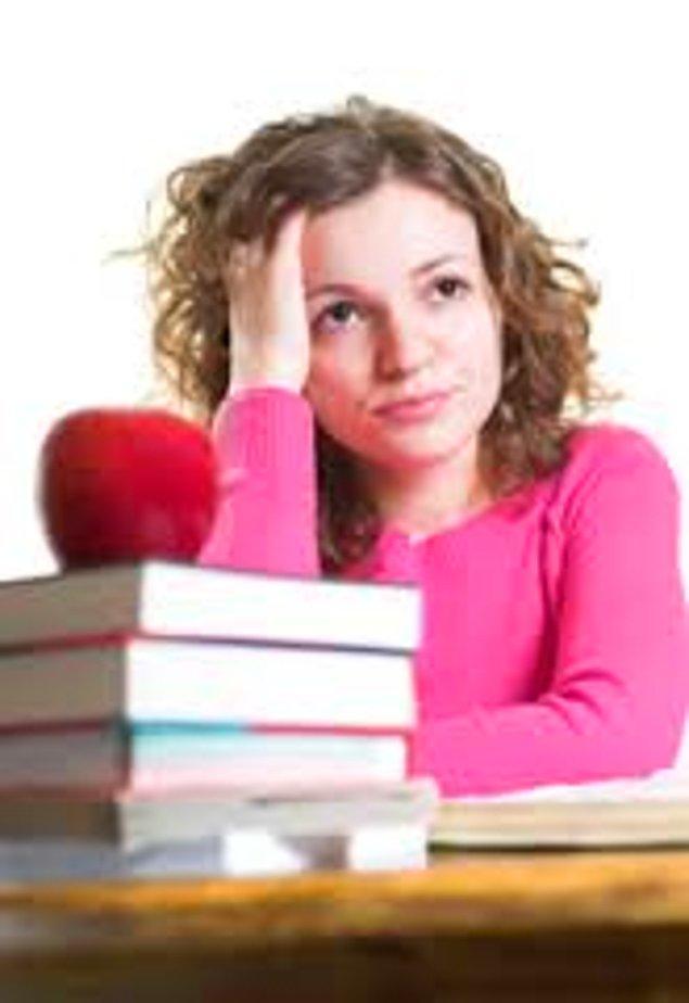 5. Okulda arkadaşlarınızın arasında en düşük notu sizin aldığınızı öğrendiğiniz an