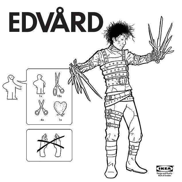 17. Genç kızların sevgilisi Edward Scissorhands artık mağazalarda!