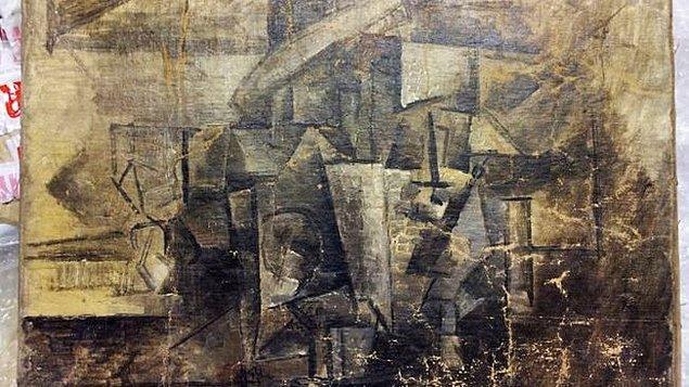Fransa'da bir müzeden çalınan dünyaca ünlü ressam Pablo Picasso'nın 2.5 milyon dolarlık ' Kuaför ' adlı eseri, ABD'de bir kurye şirketinin paketinden çıktı.