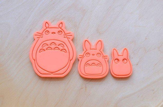 10. Totoro Kurabiye Kalıpları