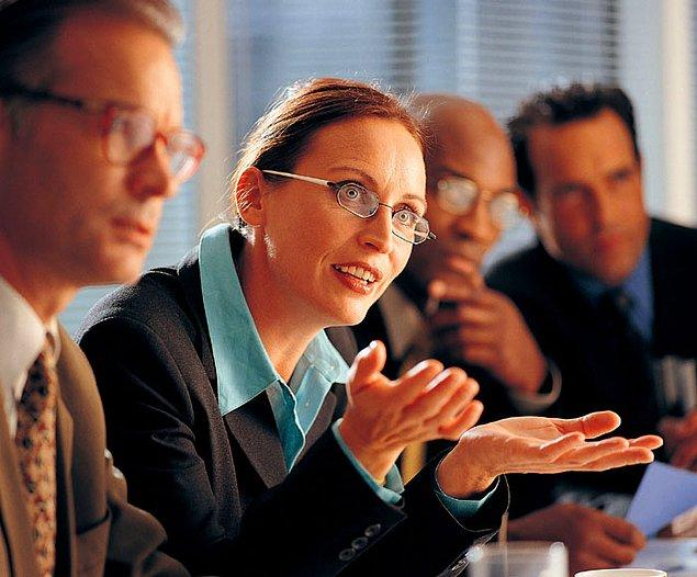 20. Sürekli rapor/analiz/veri isteyen, tek amacı yükselmek olan müdür yardımcısı.