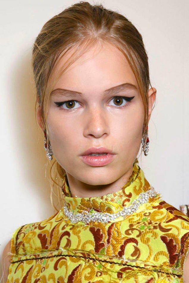 1. Belirgin Eyeliner