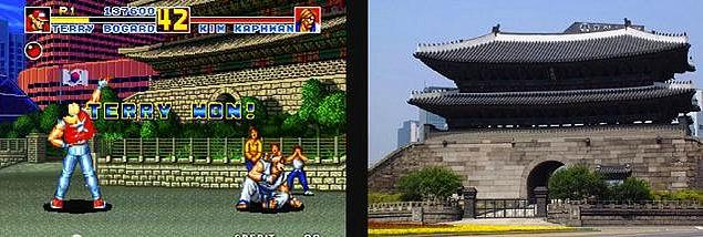 7. Fatal Fury Special ve Seul'daki Namdaemun Kapısı