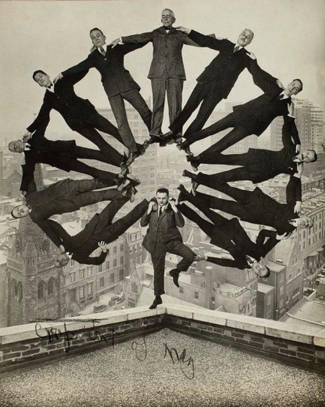 2. Çılgın bir denge hareketi, 1930