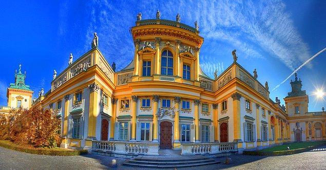 3. Wilanow Sarayı (Wilanow Palace; Muzeum Pałac w Wilanowie)