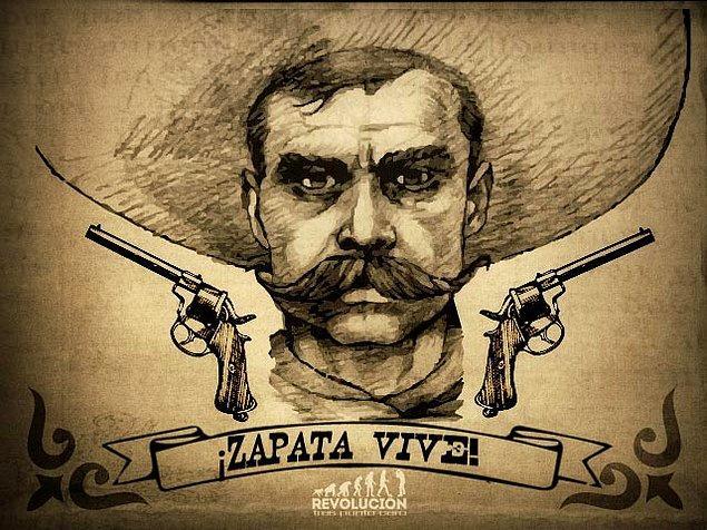 4. Zapata, gösterişli ve zengin görünümü ile her ne kadar toprak sahiplerine yakın bir izlenim uyandırsa da, köyünde saygı duyulan ve hayranlık beslenen biri haline geldi.
