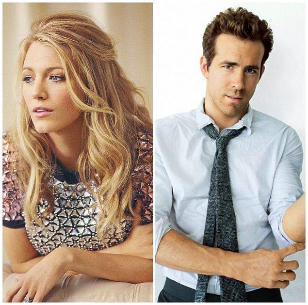 9- Blake Lively ve Ryan Reynolds
