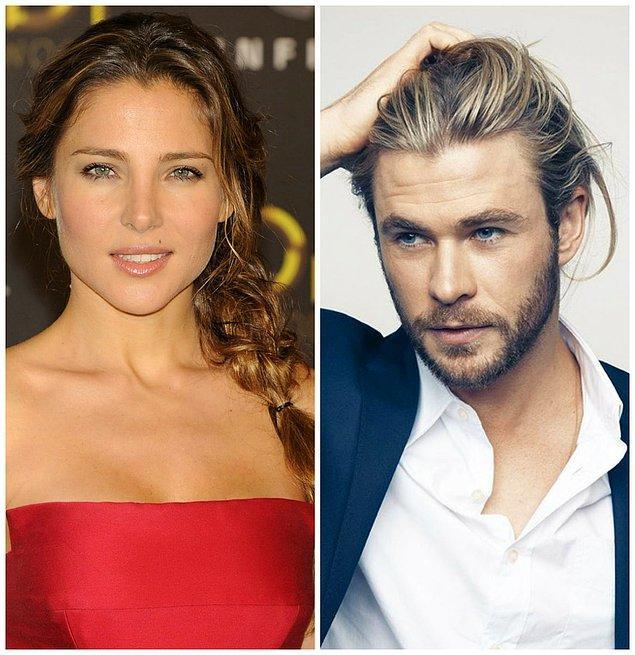 8- Elsa Pataky ve Chris Hemsworth