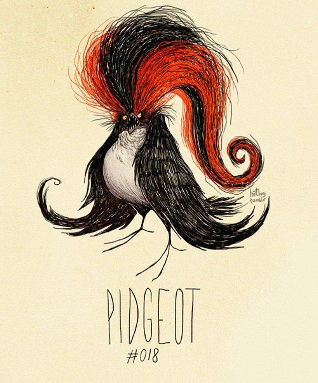 18. Pidgeot