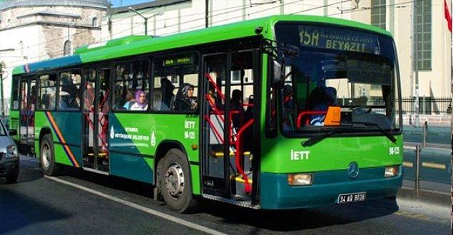 29. Otobüs veya tramvaya binince güneşin vurmadığı tarafın hesaplanmaya başlanması