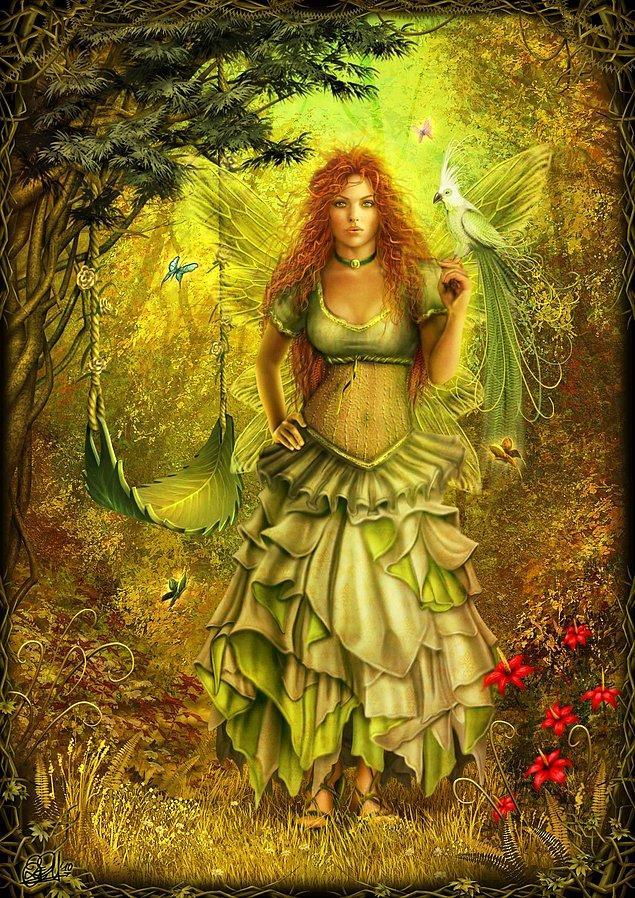 Autumn Fairy - Sonbahar Perisi