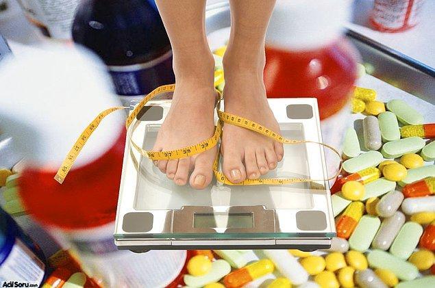 4. Zayıflama İlaçlarını Bilinçsizce Kullanmak