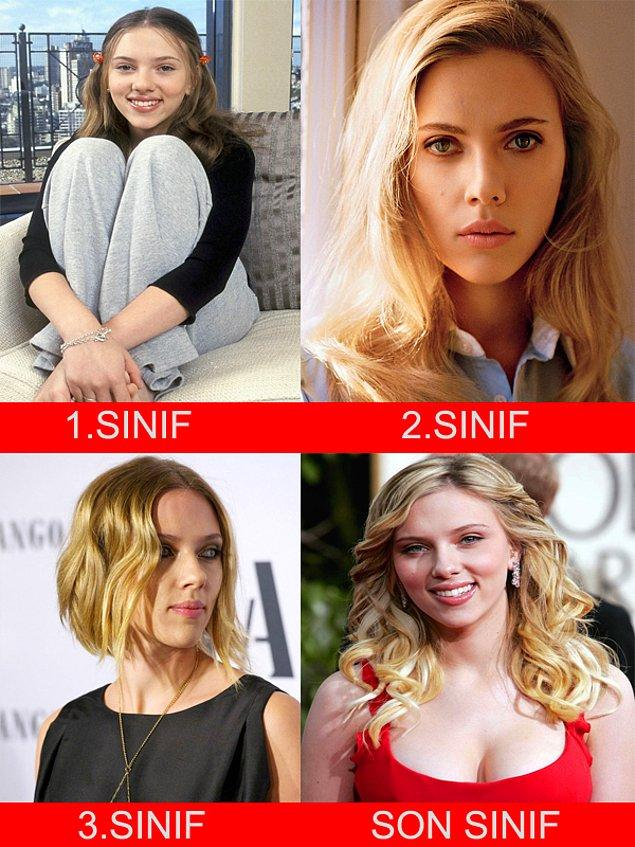 4. Scarlett Johansson - Ege Üniversitesi - Kimya Mühendisliği