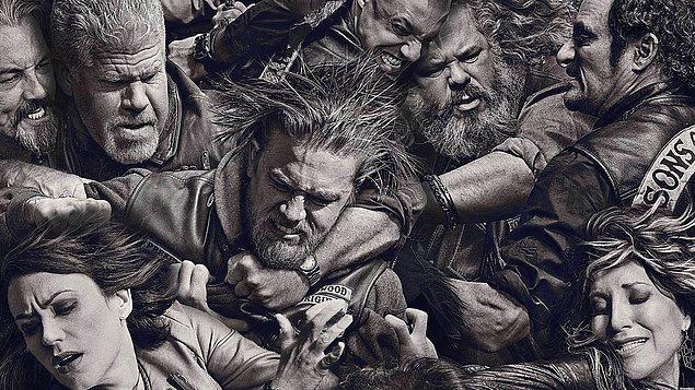 31. Sons of Anarchy   (2008– )   IMDB / 8,7