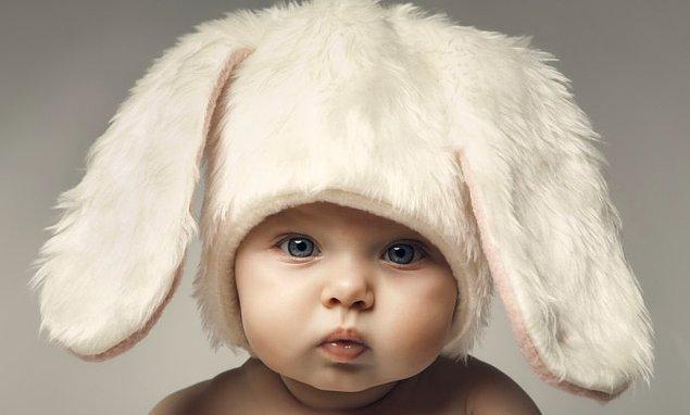 11. Rastgele gördüğünüz tatlı çocuk faktörü