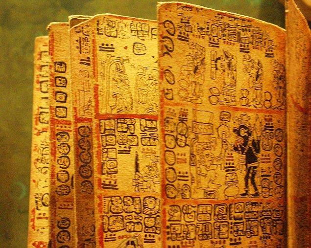 16. Mayalar eski uygarlıklar içerisinde en gelişmiş yazı sistemine sahip uygarlıktı.