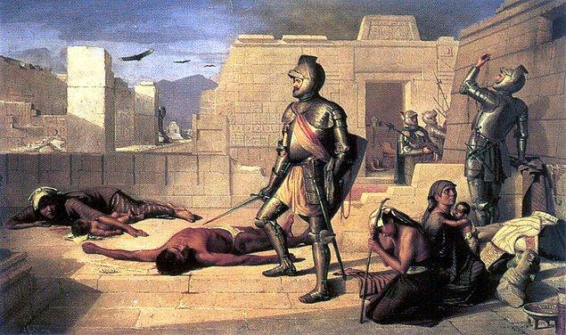 17. Maalesef İspanyol işgale sırasında bu yazıtların birçoğu kaybolmuştur.