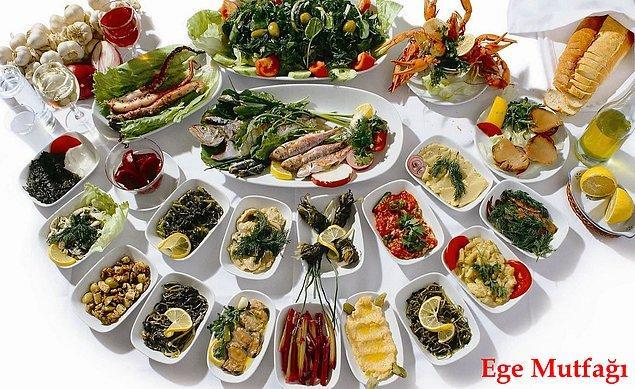 13. Hem sağlıklı hem de lezzetli onlarca yemeğin anavatanı olması.