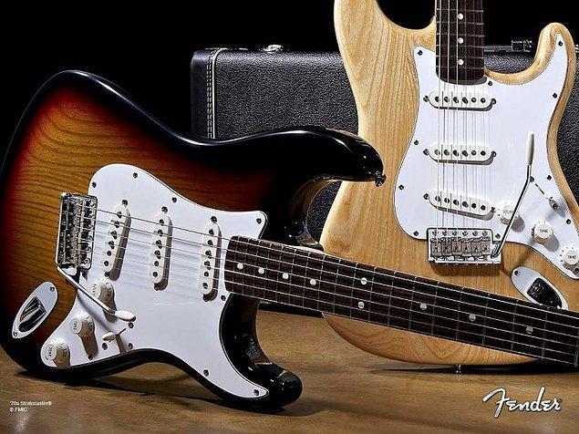 2. Fender Stratocaster
