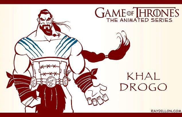 """21. Bir """"Khal Drogo"""" serbest çalışması"""