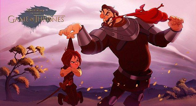 1. Tazı ve Arya Stark