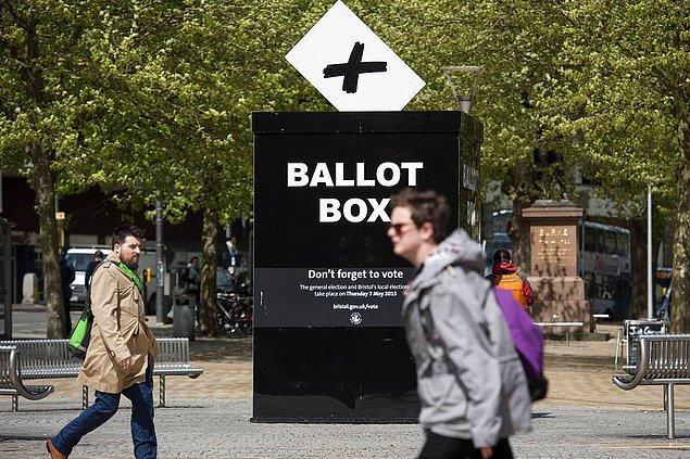 9. İngiltere Genel Seçim İçin Sandık Başında