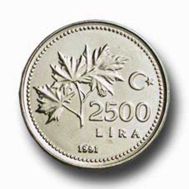 5. Bir çocuk için 2500 Liranın değerli olduğu zamanlar :)