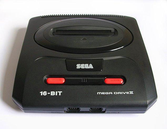 40. Atari deyince akla gelen ilk markalardandı Sega Mega Drive