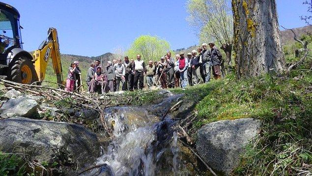 'Susuz köyde hayat biter'