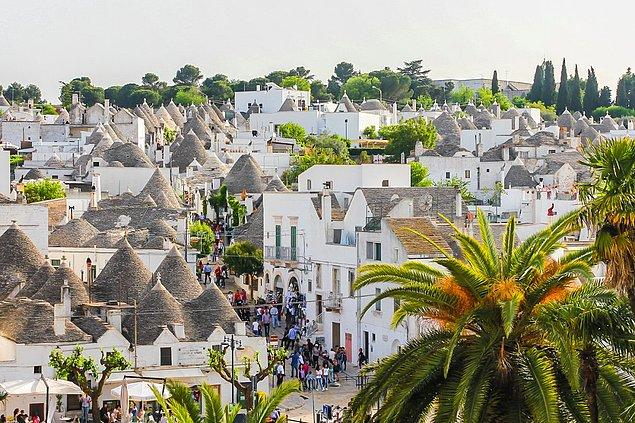 """Alberobello village in Italy is famous for having """"the kindest people"""" of Italy. The picturesque village can be dreamland of Instagramers."""