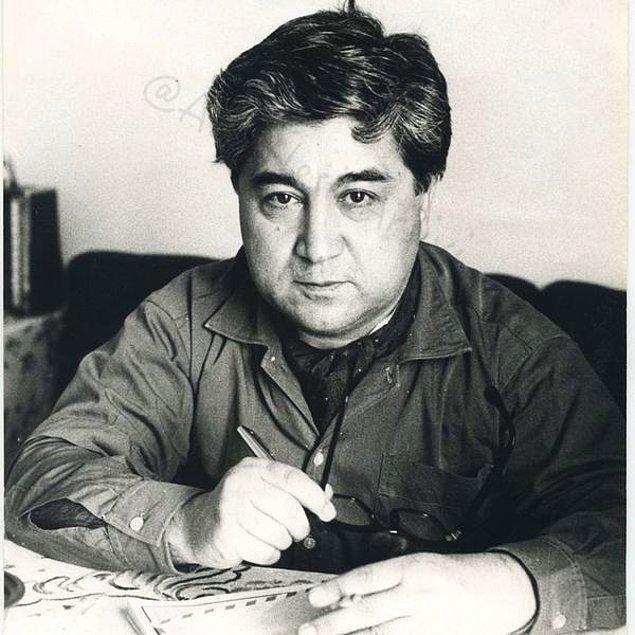 25. Ozan Sağdıç'ın objektifinden Aziz Nesin. 1967- Ankara