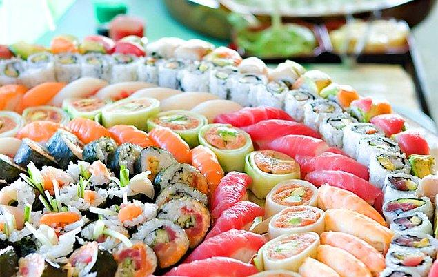 Sushi Yemelisin!