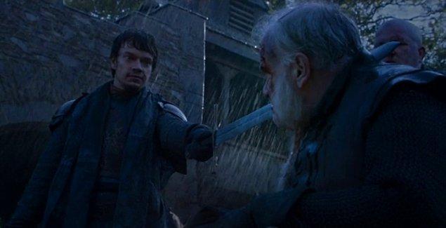 Rodrik Cassel: Tanrı Sana Yardım Etsin Theon. Şimdi Gerçekten Kayboldun.