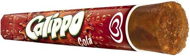 4. Efsane lezzet kolalı Calippo!