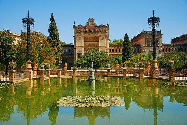17. Dorne: İspanya'da Endülüs Bahçeleri