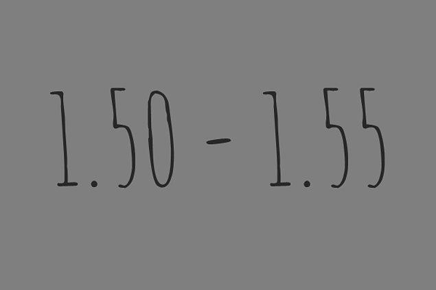 1.50 - 1.55 Arasındasın!