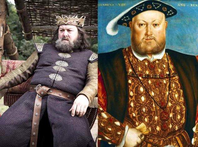 2. Robert Baratheon / Henry VIII