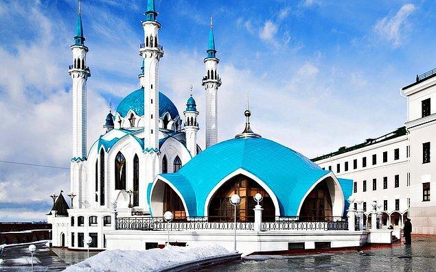 16. Kul Şerif Camii, Kazan, Tataristan Özerk Cumhuriyeti