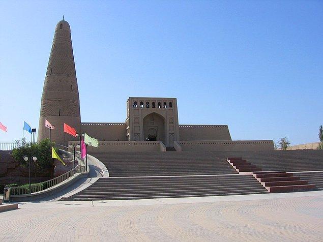 53. Emin Minaresi ve Camii, Turfan, Uygur Özerk Bölgesi