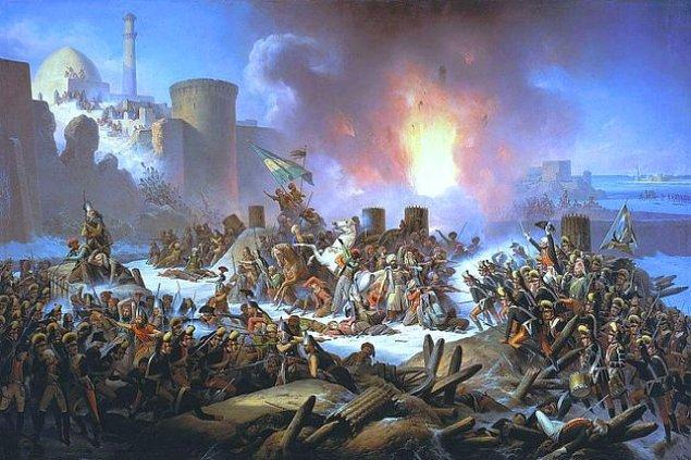 16. Birlikler her gördüğü gölgeyi Türk zannedip vurmaya başlar, aslında ateş ettikleri kendi askerleridir.