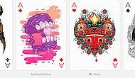 110 Playing Cards Re-designed In The Hands Of Powerful Designers!