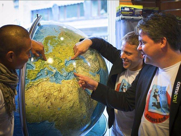 Gunnar başka bir dünya rekorunu ise 24 saatten kısa bir süre içinde 19 Avrupa ülkesi gezerek kırmış.
