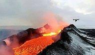 Невероятные кадры активного вулкана