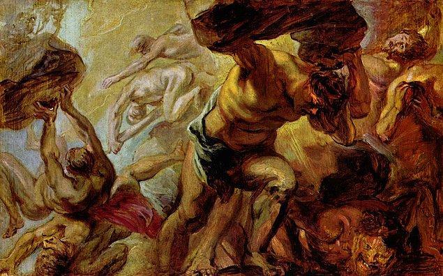 3. Savaşı Olymposlu Tanrılar kazanınca Zeus, Menoitios dahil, savaştığı Titanların tümünü Tartaros'a tıkmıştır.