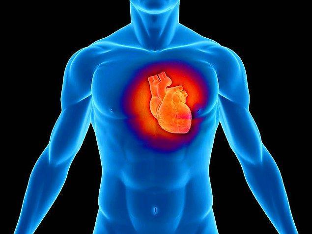 1. Kalp krizi ve felç geçirme riskiniz yüksek