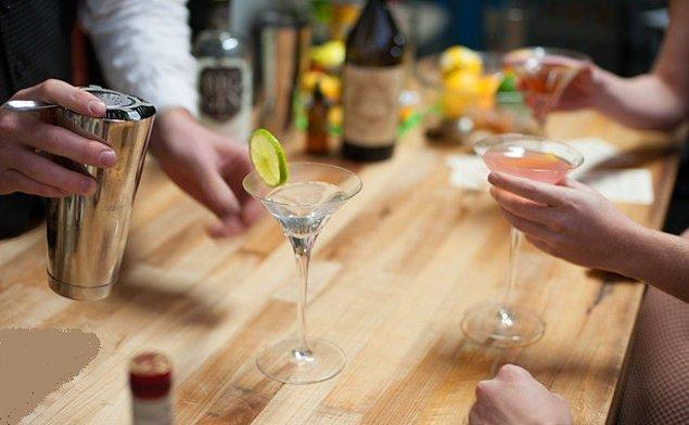 2. Alkol tüketmeye eğiliminiz artar