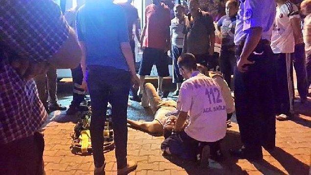 6. Konya'da PKK'lı Diye Üsteğmeni Dövdüler...